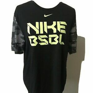 Black Nike BSBL Dri Fit Athletic T-shirt